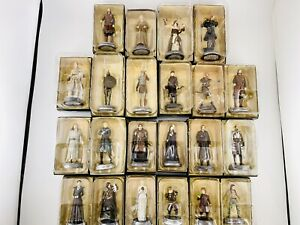 Lot Of 22 Game Of Thrones Figures Eaglemoss Collector Set HBO Licensed NEW Sale