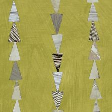 Dreamer Moss Triangle Stripe By The yard Dreamer by Carrie Bloomston