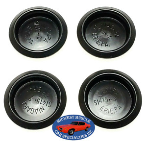 "Chrysler Dodge Plymouth Jeep 1 1/2"" Body Plugs Plastic Depressed Center 4pcs VX"