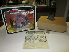1981 Kenner Star Wars ESB Dagobah Playset w/Canadian Box, inserts and paperwork
