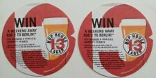 Hop House 13 Lager Beer Mat Coaster X2 NEW Guinness Double Sided UK
