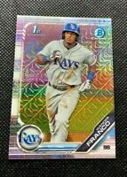 2019 Bowman Chrome Wander Franco 1st Bowman Mega Box Refractor Rookie