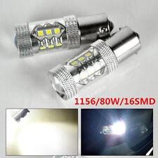 1pcs 80W 12V White Led 1156 BA15S P21W Car Backup Reverse Signal Light Canbus
