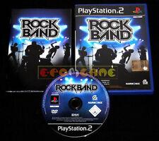 ROCK BAND 1 Ps2 Versione Ufficiale Italiana •••• COMPLETO