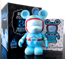"DISNEY VINYLMATION 3"" PARK 4 MILES FROM TOMORROWLAND ASTRONAUT SPACE SUIT w/CARD"