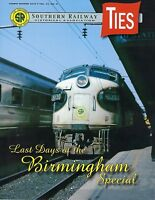 TIES: 4th Qtr 2018 issue of the SOUTHERN RAILWAY Historical Association -- (NEW)