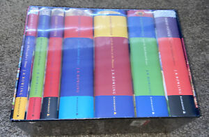 Full set 7 Harry Potter H/B  books First Bloomsbury Uk Edition New Sealed