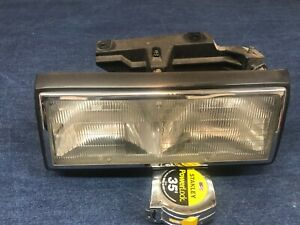 1991 92 1993 Cadillac Fleetwood Deville  FWD LEFT Headlight Lamp Mount Panel #2