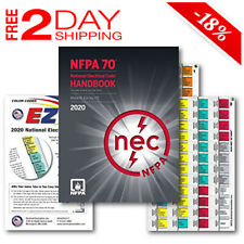 National Electrical Code Nec Handbook (Hardcover), Ez Tabs Color Coded 2020 Ed