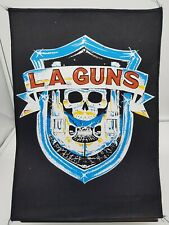 More details for vintage 80s 90s original rock metal back patch la guns