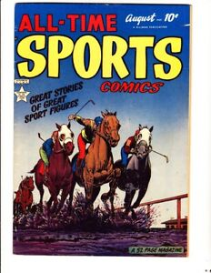 All-Time Sports vol. 1, #6 (1949): FREE to combine- in Very Good condition