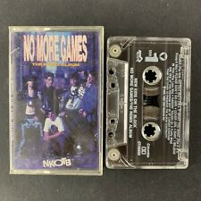 New Kids on the Block - No More Games -The Remix Album - Audio Cassette Tape
