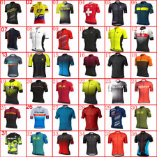 Summer Mens Cycling Jersey New Bike Wear Racing Shirts Short Sleeve Bicycle Tops