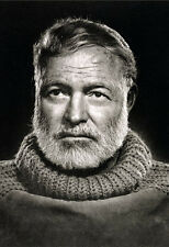 Ernest Hemingway Poster, Writer, Author and Journalist