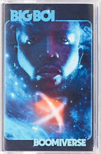 Big Boi Cassette Tape  Boomiverse sealed new limited edition blue shell Outkast