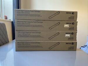 Xerox Phaser 7500 High Capacity Genuine Toner 106R01436 7/8/9