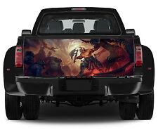 Truck Tailgate Graphics Diablo Inferno Vinyl Decal Full Color Sticker Trunk Wrap