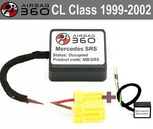 Mercedes SRS CL 1999-2002  Passenger Seat Mat Occupancy sensor emulator BYPASS