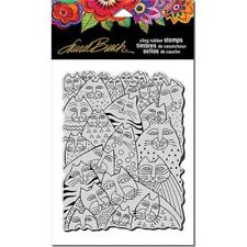 Stampendous Laurel Burch Cling Stamp - Whiskers LBCR001