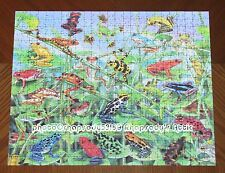 Hanging Around Frogs Visual Echo 3D Puzzle Effects Lenticular Image - Assembled
