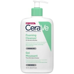 CeraVe Foaming Facial Cleanser 473ml - For Normal to Oily Skin