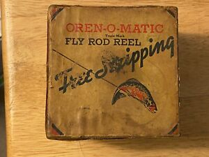 Vintage South Bend OREN-O-MATIC Fly Rod Reel No. 1130 Model D w/box