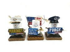 The Original Smores US Airforce, US Marines, Thank You For Your Service 3 Pack E