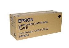 TONER NOIR  EPSON  D'ORIGINE C1000- C2000 C13S050033