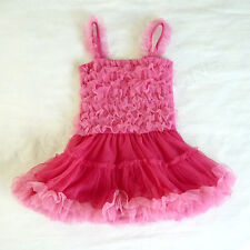 BALLERINA PRINCESS Costume Pink Ruffle Tutu Dress 24 Months FUN! Amy Coe NWOT