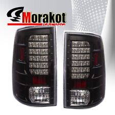 Dodge Ram 1500 02-06 /Ram 2500/3500 03-06 Rear Brake LED Tail Lights Black Clear