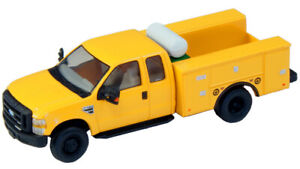 HO RPS River Point Station Ford F-450 Super Cab Fleet Service Truck- Yellow 1/87