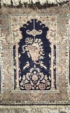 HEREKEH SILK RUG, AN ATTRACTIVE SIGNED HEREKEH SILK RUG