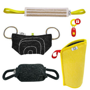 Intermediate Dog Bite Arm Sleeve Tug Chew Toys for Training Young K9 Dogs