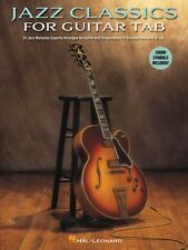 Jazz Classics for Guitar Tab Sheet Music Guitar Collection Book NEW 000129202