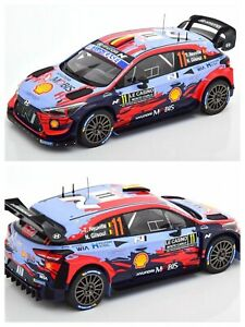 1/18 IXO Hyundai i20 Coupe WRC N° 11 Neuville/Gilsoul Rally Monte Carlo 2020