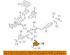 VOLVO OEM 09-14 S80 3.2L-L6-Exhaust Muffler-w/tpipe 31452573