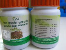 Shilajeet Rasayan Vati (( 120 Tablets )) for Libido enhancer, PE & rejuvenat USA