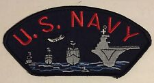 U.S. NAVY SHIPS - EMBROIDERED PATCH - NEW - MUST SEE