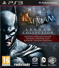 Batman Arkham Collection PS3 [3 Juegos] (Leer Descripción)