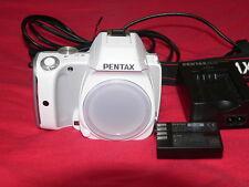 Pentax  K K-S1 20.1 MP Digital SLR Camera - white  (Body Only)