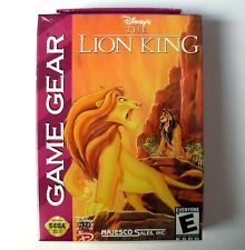 THE LION KING (Roi Lion) jeu pour Sega Game Gear, NEUF / NEW, game for Game Gear