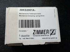 ZIMMER MKS2001A MECHANICAL CLAMPING SPRING FORCE (BR2.3B2)