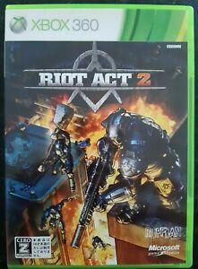 Riot Act 2 Xbox 360 Japanese , Xbox One