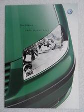 VW Sharan brochure 2003 - SE, Sport, Carat models