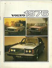 1976 Volvo Sales Brochure Book Catalog 264 GL 242 244 265 245