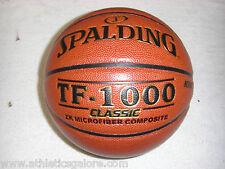 """SPALDING TF1000 CLASSIC  BASKETBALL INTERMEDIATE SIZE 28.5"""" CIRCUMFERENCE"""