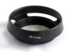 Metal Vented Lens Hood for 40.5mm Filter Thread Leica Olympus Panasonic MH-40.5