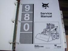 BOBCAT OEM 980 SKID STEER LOADER SERVICE MANUAL