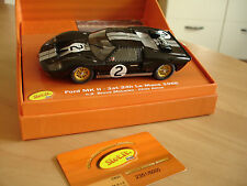 SLOT.IT CW10 FORD GT40 MKII WINNER LE MANS 1966 NINCO SCALEXTRIC CARRERA