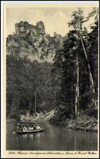 AK ~ 1930/45 regione Rathen BECCACCIA motivo locomotiva U. Agnello